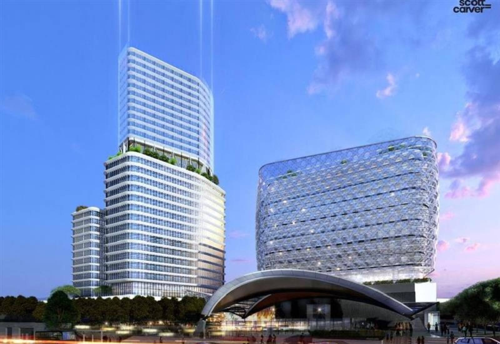 NSW Government developer Landcom receives council support for high-rise hotel at Norwest Metro station